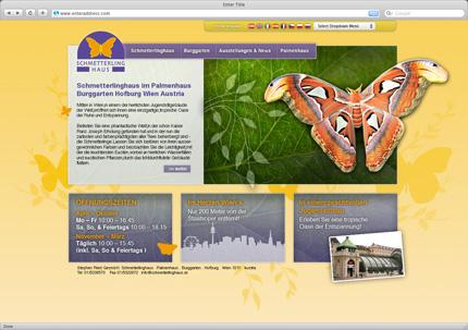 Schmetterlingshaus  Vienna