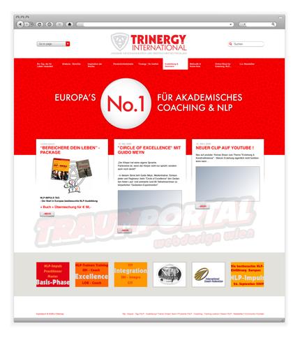 Trinergy Webseite