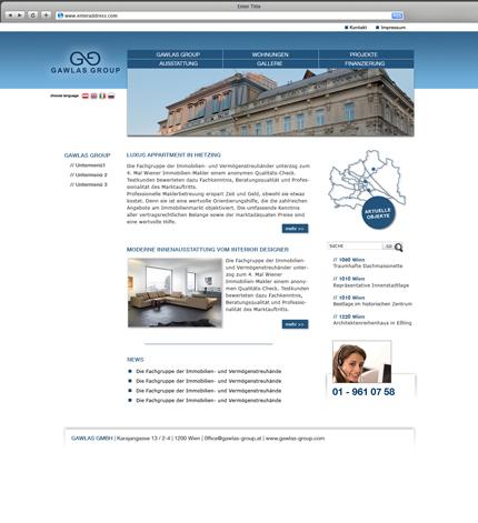 Immobilien Wien Webseite
