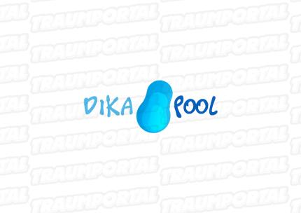 Logogestaltung Dika Pool