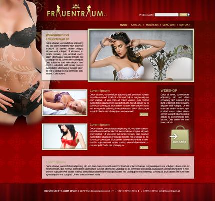 FrauenTraum Webseite