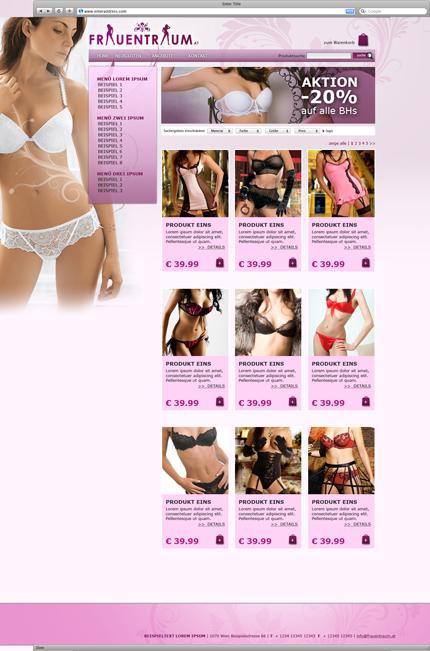 FrauenTraum Webshop