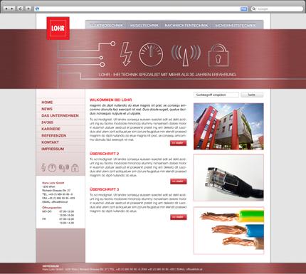 Lohr Webseite