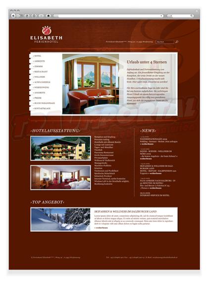 Hotel Elisabeth Webseite