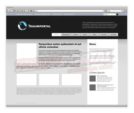 Webseitentemplate