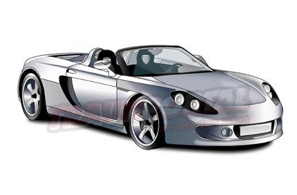Porsche GT Grafik