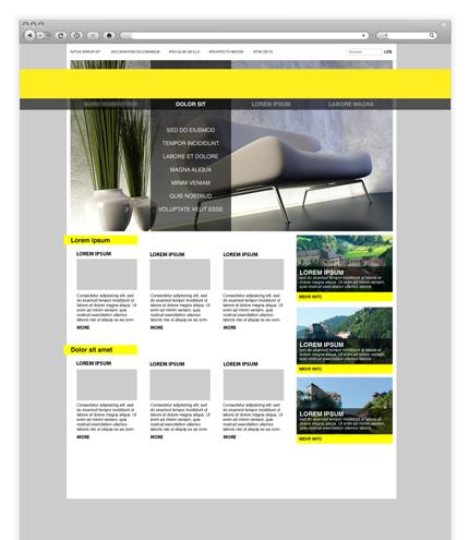 Webdesigner Seite