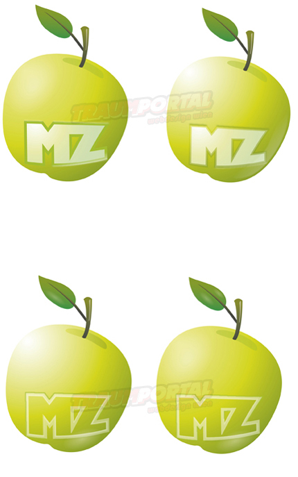 apfel mz logo logogestaltung ern 228 herungsberater