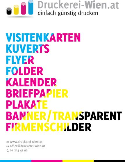 Firmenschild Druckerei Wien At Wir Gestalten Ihre Werbetafel