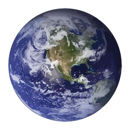 Erde Erdkugel