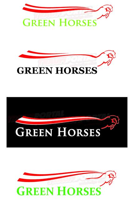Green's Horses Logo | Pferde Logo