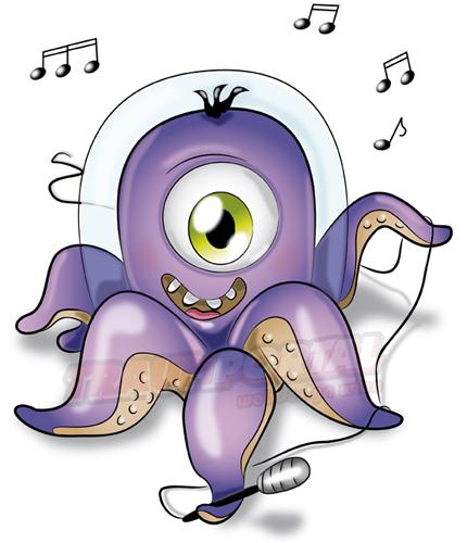 Oktopus singt