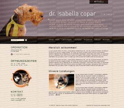 Tierarzt Webseite